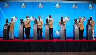NFL presenta a los 15 nuevos miembros del Salón de la Fama