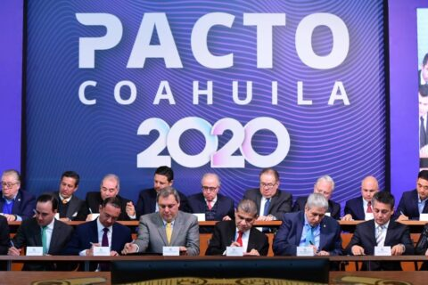 Firman Pacto Coahuila 2020