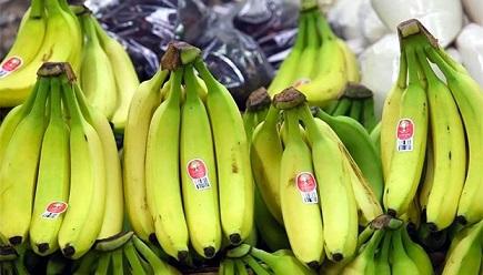 Sale a China primer embarque de plátano