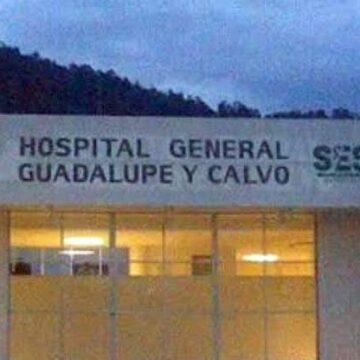 Gobierno del Estado no ha cumplido apoyo para el hospital de Guadalupe y Calvo: Omar Bazán