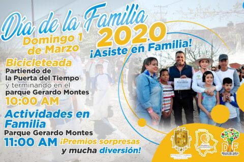 Este domingo, celebrará DIF el día de la familia.