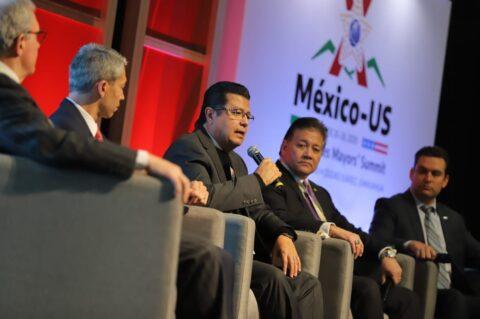 Participa Alcalde en Cumbre Binacional de Ciudades Hermanas