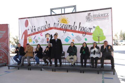 Inaugura Alcalde trabajos de repavimentación en avenida De los Aztecas