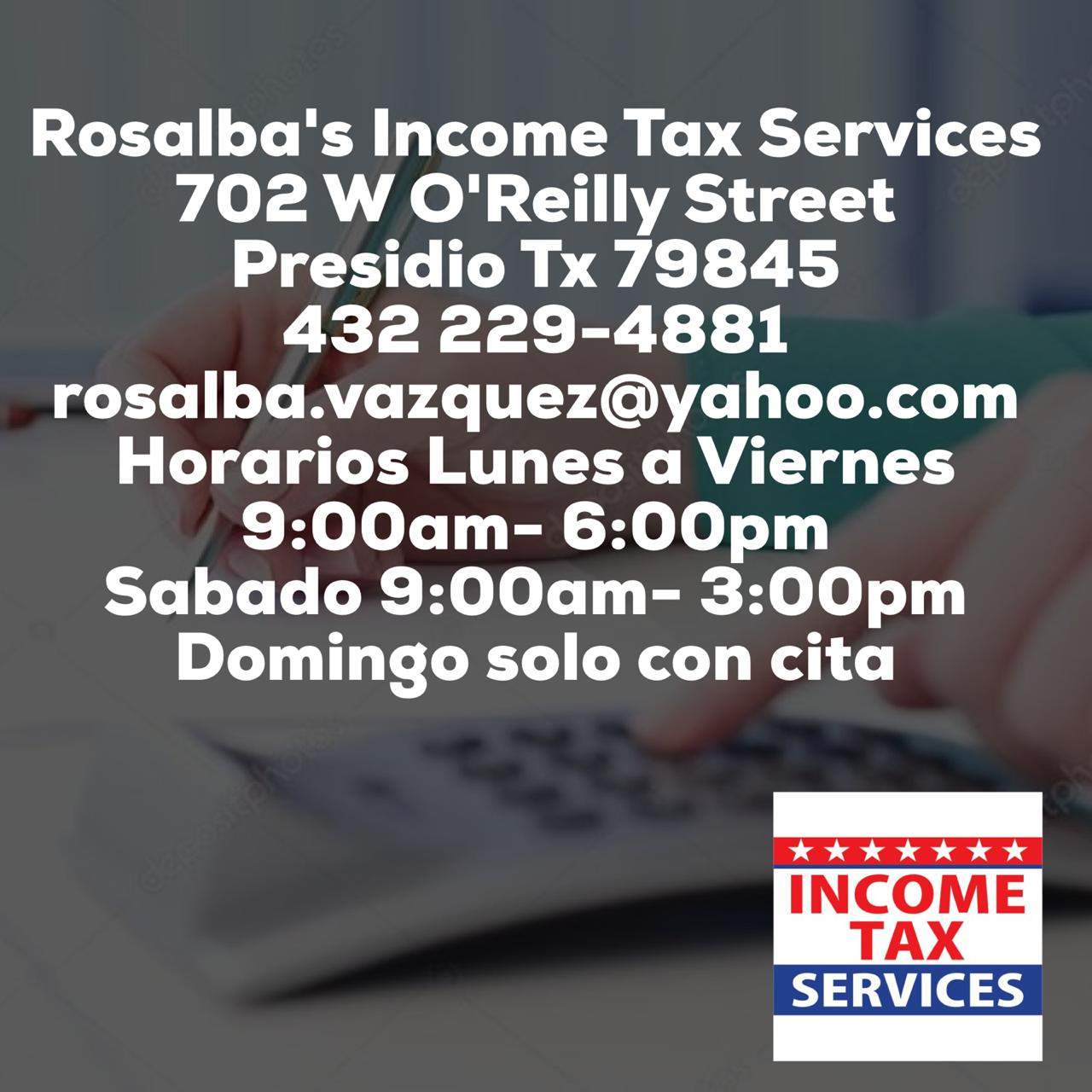 Rosalba's Income Tax Services