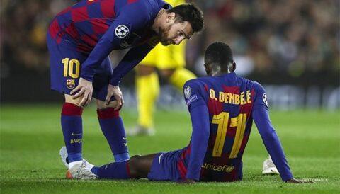 Barcelona tiene permiso para contratar por lesión de Dembélé