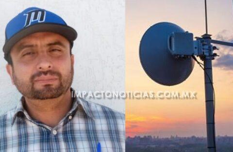 Rentarán terreno para colocar antena y proveer de internet gratuito a Camargo
