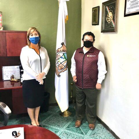 Llego el director de PROFECO a Ocampo: LMSF