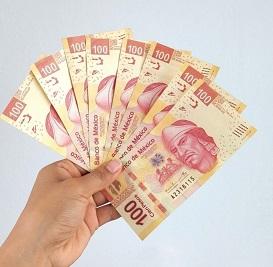 Salario mínimo aumentará 15% a 141.7 pesos diarios en 2021