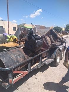 Retiran 20 toneladas de tiliches de San Guillermo