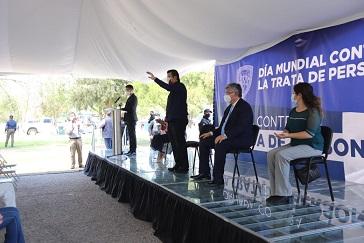 Gobierno Municipal mantiene su compromiso con la sociedad en la lucha contra la Trata de Personas: Alcalde