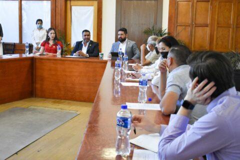 Se reúne el Alcalde Lozoya con hoteleros y restauranteros de frente a Jornadas Villistas virtuales 2020