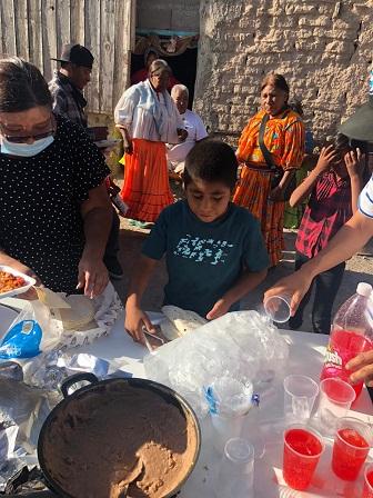 Trabaja la Iglesia Bautista Nueva Jerusalén con asentamiento Tarahumara