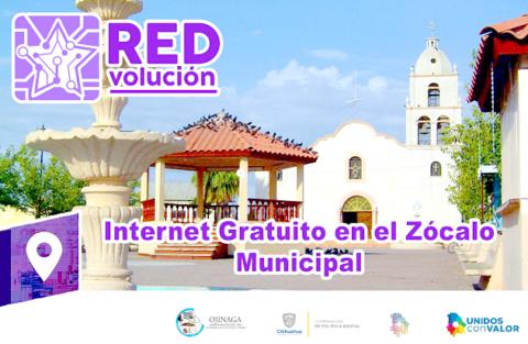 Habilita Presidencia Mpal. internet gratuito en el Zócalo