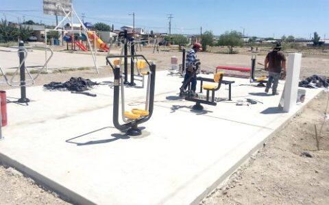 Realizan remodelación de centros deportivos y recreativos