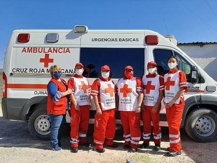 Nueva imagen de cruz Roja Mexicana: CP. SEHG