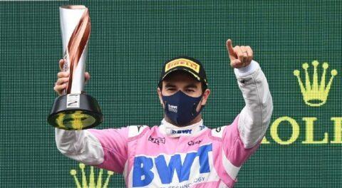 Conquistó Checo Perez ¡segundo lugar! en GP de Azerbaiyán