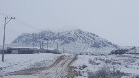 Termina 2020 con nieve en Ojinaga
