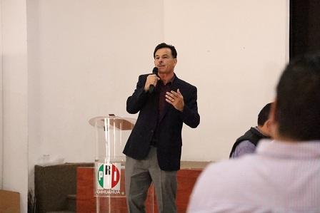 Debemos unirnos y trabajar en conjunto: Sergio Carrillo Escudero