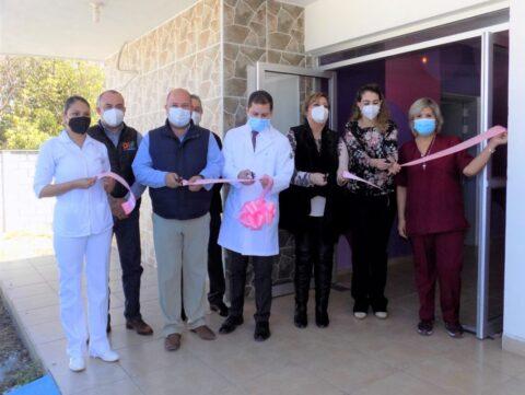 Secretaría de Salud del Estado dona un mastógrafo para el centro de rehabilitación en Múzquiz