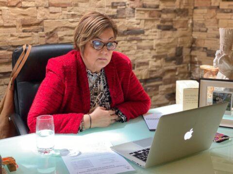 Se reunió la alcaldesa de Múzquiz, Luisa Alejandra Santos Cadena con el subcomité técnico Regional Covid-19