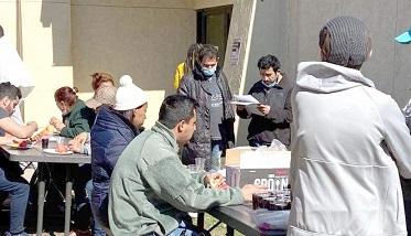 Reanudan las actividades para apoyar a migrantes