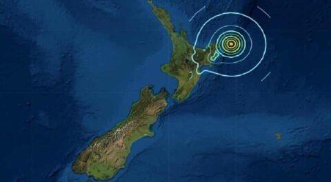 Sacude fuerte sismo en Nueva Zelanda de 7.4; el segundo en horas