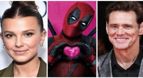 Podrían Jim Carrey y Millie Bobby Brown unirse a elenco de Deadpool 3