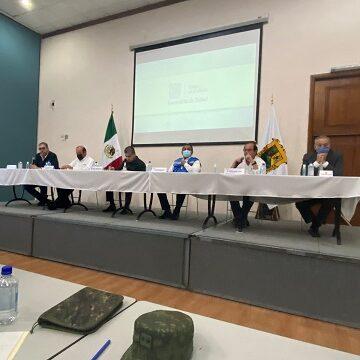 Ocampo presente en la Reunión del Subcomité Regional de Salud en la Ciudad de Monclova