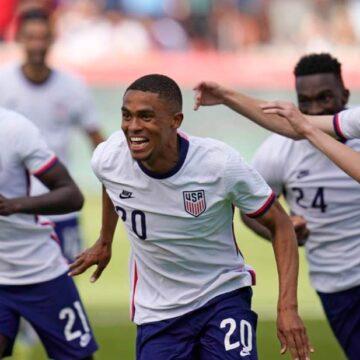 Estados Unidos arrolla a Costa Rica en amistoso