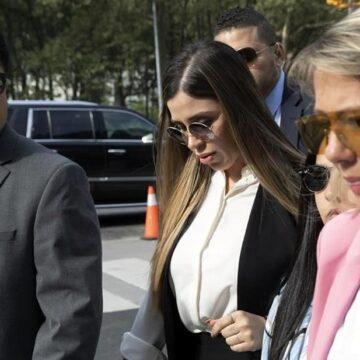 Se declara Emma Coronel culpable en EU por narcotráfico